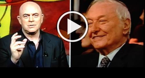 Crozza Ballarò copertina 18/12/2012: la fine del mondo fra scienzati e dinosauri [Video]